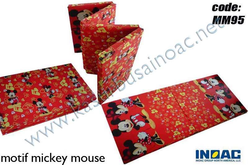 Kasur Lipat Mickey Mouse