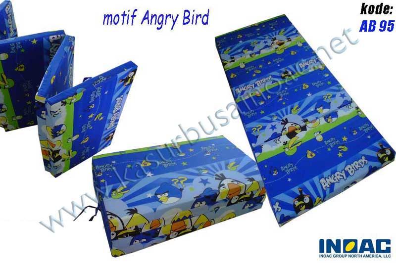 Kasur Lipat Motif Angry Bird