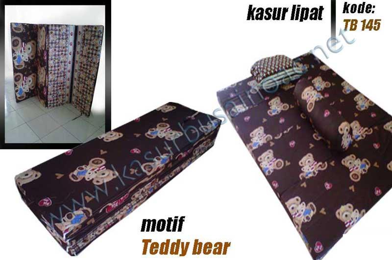 Kasur Lipat Motif Teddy Bear