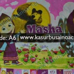 Motif Kasur Busa Anak Anak Masha and the Bear