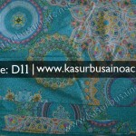 Motif Kasur Busa Dewasa Batik Warna Biru