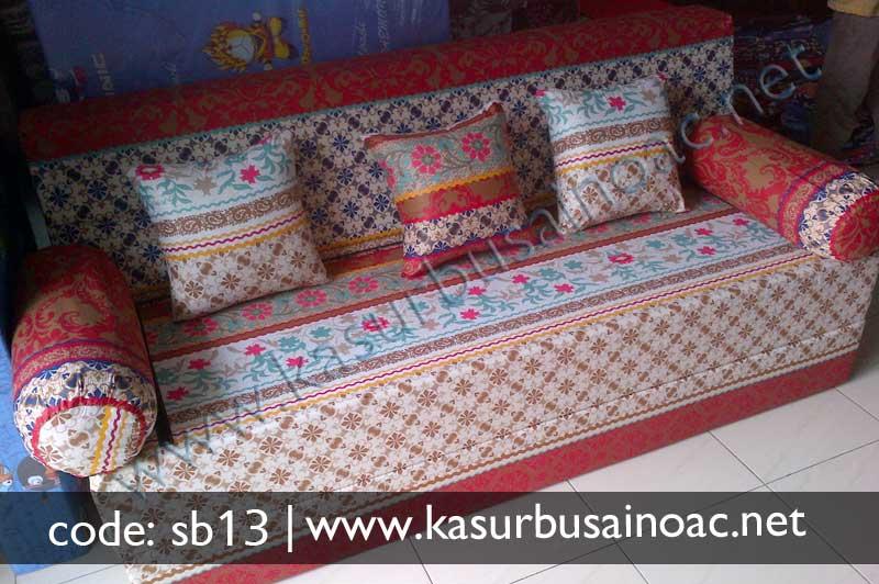 Sofa Bed Motif Batik Jual Kasur Busa Inoac Online