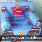 Sofa Bed Motif Cars