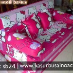 Sofa Bed Motif Hello Kitty