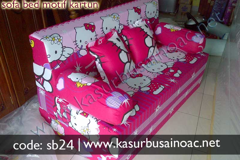 Sofa Bed Motif Hello Kitty Jual Kasur Busa Inoac Online