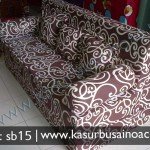 Sofa Bed Motif Tribal