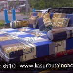 Sofa Bed Warna Biru
