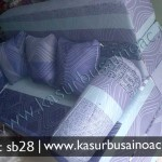 Sofa Bed Warna Biru Muda