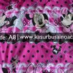 Motif Kasur Busa Anak Anak Mickey Mouse Pink