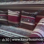 Sofa Bed Cokelat