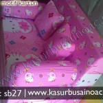 Sofa Bed Hello Kitty Pink