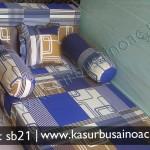 Sofa Bed Kecil Motif Tralis