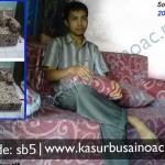 Sofa Bed Motif Batik Kruis