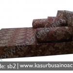Sofa Bed Motif Bunga