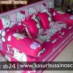 Sofa Bed Motif Hello Kitty